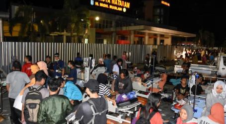 هزة أرضية متوسطة اجتاحت منطقة سومباوا بإندونيسيا