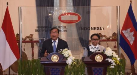 تكثيف التعاون بين إندونيسيا  وكمبوديا من أجل وحدة الآسيان