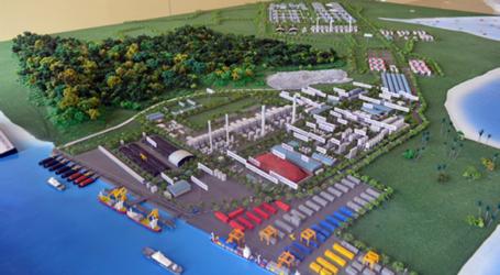 الوزير يفتتح منطقة جالانج باتانج الاقتصادية بمقاطعة جزر رياو