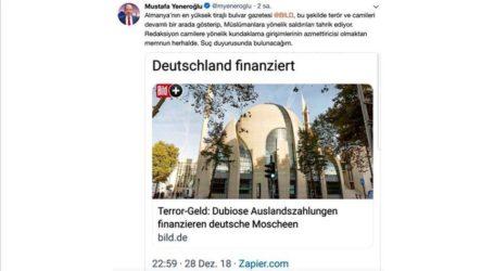 """شخصيات تركية """"مستاءة"""" من صحيفة ألمانية تحرض ضد المسلمين"""
