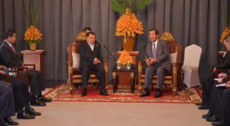 كالا يجري محادثات مع هون سين من أجل تطويرالتعاون بين البلدين