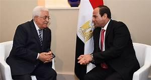 فلسطين:عباس يزور القاهرة للقاء نظيره المصري وقمة رئاسية اليوم