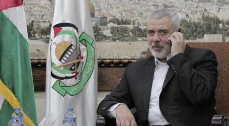 هنية يبحث مع نائب وزير الخارجية المستجدات السياسية هاتفيا