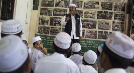 أطفال لاجئي أقلية الروهنغيا المسلمة يطلبون العلم في ماليزيا