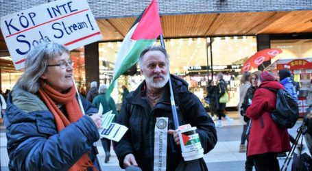 ناشطون سويديون يدعون إلى مقاطعة البضائع الإسرائيلية