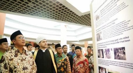 افتتاح رسميا معرض التقاليد الإسلامية الروسية في متحف TMII