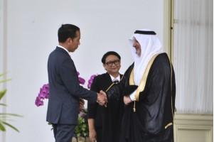 السفير السعودي الجديد يقدم أوراق الاعتماد للرئيس جوكو ويدودو