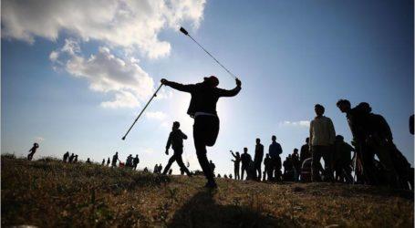 إصابة 37 متظاهرا فلسطينيا شرقي قطاع غزة