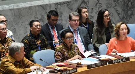إندونيسيا تشجع النقاش حول القضية الفلسطينية في مجلس الأمن الدولي