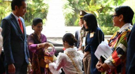 الرئيس جوكو ويدودو يصل إلى بانكوك لحضور قمة الآسيان الرابعة والثلاثين