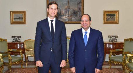 السيسي : حل القضية الفلسطينية بحل الدولتين