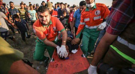 استشهاد فلسطيني وإصابة العشرات برصاص الجيش الإسرائيلي بغزة
