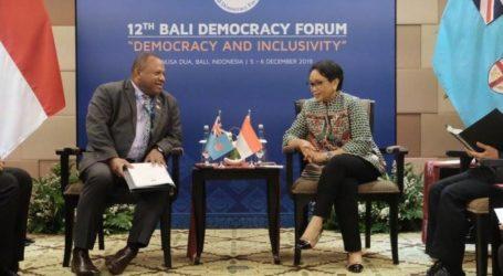 تكثيف التعاون الاقتصادي بين إندونيسيا وفيجي في المحيط الهادئ