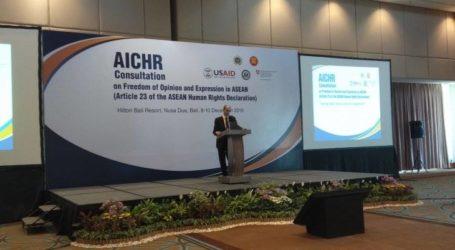 السفير:مبعوث آسيان لحقوق الإنسان يحمي حرية التعبير