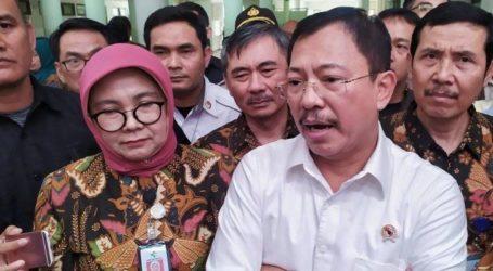 وزير يزور المرافق الصحية في باندونغ قبل عطلة نهاية العام