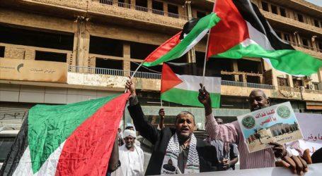 سكان السودان ينظمون وقفة احتجاجية رفضا للتطبيع مع إسرائيل