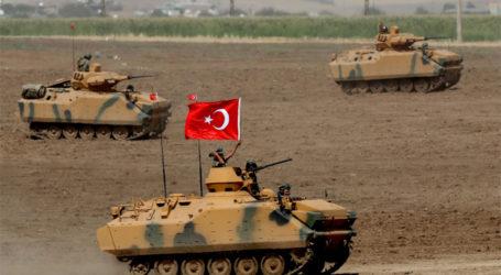 الدفاع التركية تقصف 115 هدفا للنظام السوري