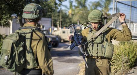 الجيش الإسرائيلي يعتقل 4 فلسطينيين في الضفة