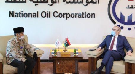 ليبيا : صنع الله يبحث مع سفارة إندونيسيا التعاون في النفط والغاز