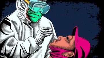 بيانات إعلامية توضح الفيروس كورونا المعدي في إندونيسيا