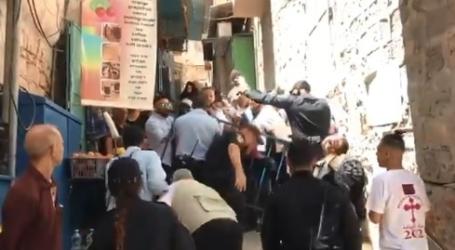 """الرئاسة الفلسطينية تدين """"قمع"""" إسرائيل للمسيحيين في القدس"""