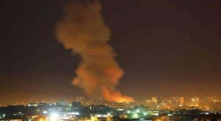 الجيش الإسرائيلي يقصف موقعين في غزة