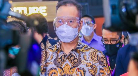وزير الصناعة : التطعيم يلعب دورًا مهمًا في تحقيق صناعة قوية وإندونيسيا متقدمة