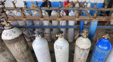 إدارة جاكرتا: يجب عدم تخزين اسطوانات الأكسجين