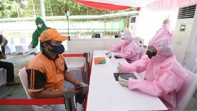 وزارة الصحة تشيد بمعدل التطعيم في جزر رياو
