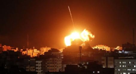 """غارات إسرائيلية على غزة و""""الحديدية"""" تتصدى لصاروخ"""