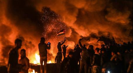 """فلسطين: 3  إصابات بقمع الجيش الإسرائيلي مظاهرات """"الإرباك الليلي"""" بغزة"""
