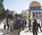 القدس.. إسرائيل تصيب 17 فلسطينيا وتعتقل 15 طفلا بباب العامود