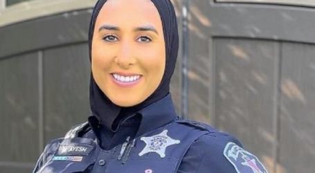مها عايش ، أول ضابطة شرطة مسلمة محجبة في إلينوي
